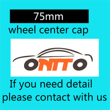 Car styling 4 pcs Dust-proof 75mm roda cap centro Da Roda emblema tampas para ben(China)