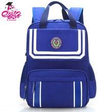 7fd84e3343ee Легкие рюкзаки школьный молнии ноутбук рюкзак темно-синего цвета Модная  одежда для девочек/мальчиков