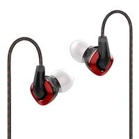 FIIO F3 Dinâmico HIFI Monitores de Ouvido Fone de Ouvido com Microfone para XIAOMI HUAWEI mobile phone|earphones with microphone|monitor earphone|in-ear monitor -