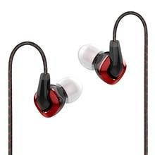 FIIO F3 Dynamische HIFI In Ear Monitors Oortelefoon met Microfoon voor XIAOMI HUAWEI mobiele telefoon