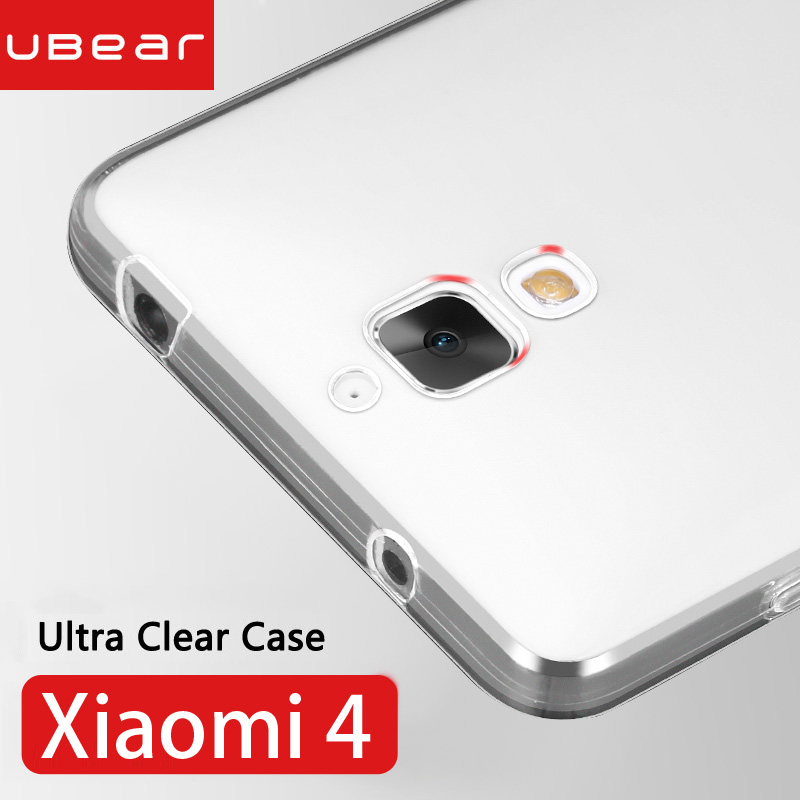 Xiaomi Mi4 Case Xiaomi Mi4 Cover Case Silicone Ultra Thin Soft Back Clear Funda Transparent Back Coque Xiaomi Mi4 Mi 4 Case