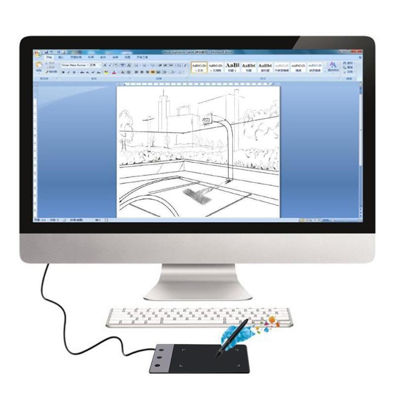 Dessin graphique numérique Portable pour tablette de Signature professionnelle Huion H420 - 3