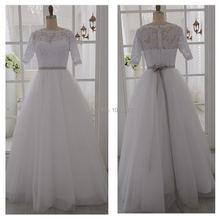 Элегантное женское винтажное кружевное платье с рукавом до локтя