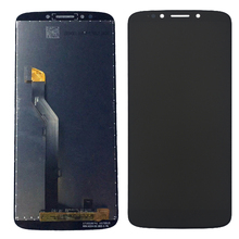 For Motorola Moto G6 Play LCD Display Touch Screen Panel For XT1922 Mobile Phone Lcds Combo Digitizer Assembly Replacement 5.7""