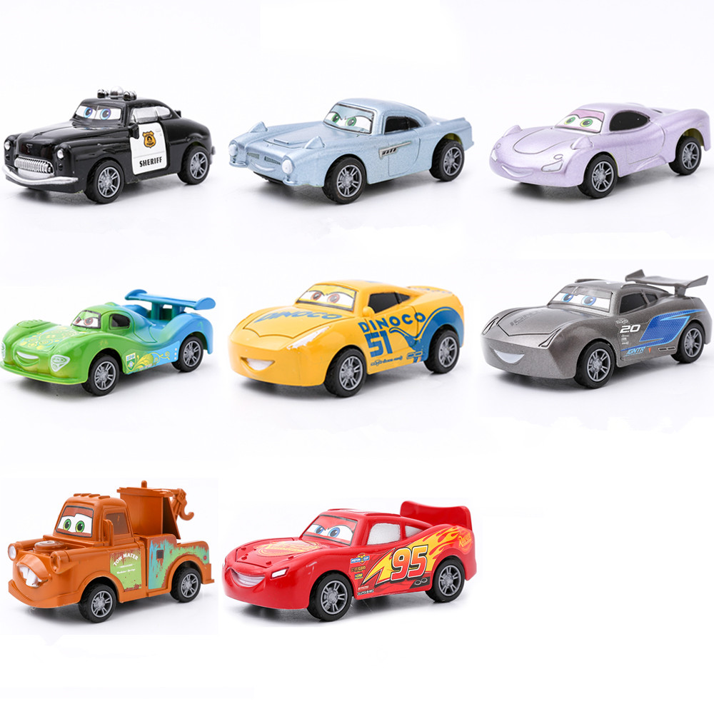 Disney Pixar Cars 3 Toys For Kids LIGHTNING McQUEEN High Quality Plastic Cars Toys Cartoon Models Christmas Gifts цена