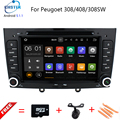 Android 5.11 Special Car DVD Stereo Navigation for Peugeot 408 & 308 Gray with GPS RDS IPOD 3G SWC Rearview Free 8GB Map card