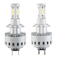 2X7P H7 16000LM 80W White Auto Car 6500K LED Bulb Head Light Universal 6000k Led Lamp