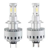 2X7P H7 16000LM 80W White Auto Car 6500K LED Bulb Head Light universal 6000k Led lamp for auto Light bulb led car lights led 12v