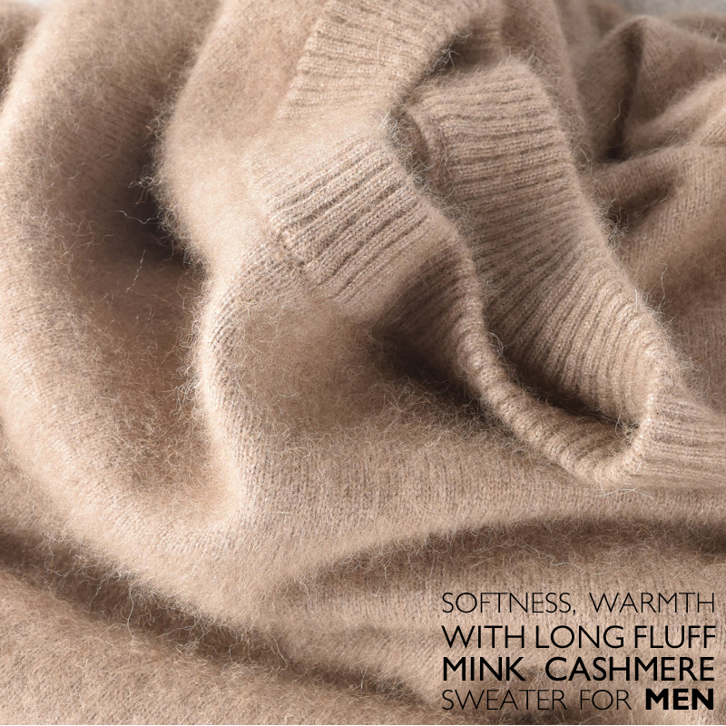 Распродажа Новинка зимы бренд Для мужчин о Средства ухода за кожей Шеи 100 норки кашемировый свитер цвета пуловер для парня Рождественский blusas Masculina