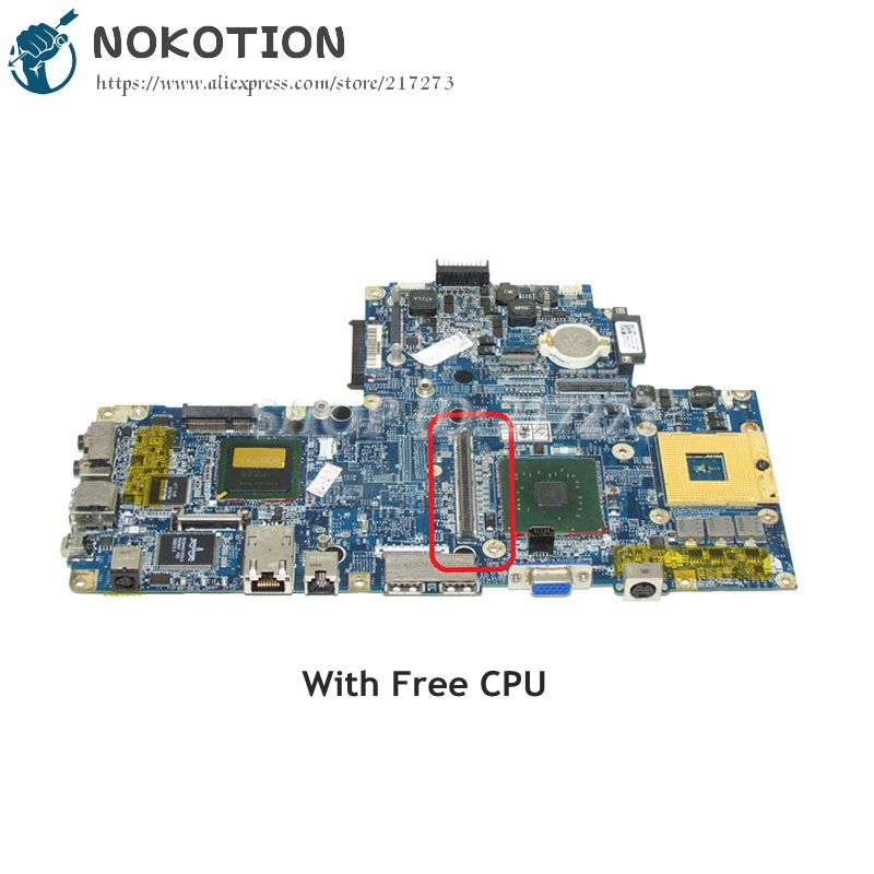 NOKOTION CN-0YD612 0YD612 For Dell Inspiron 6400 Laptop Motherboard DA0FM1MB6E7 945PM DDR2 with graphics slot  Free CPUNOKOTION CN-0YD612 0YD612 For Dell Inspiron 6400 Laptop Motherboard DA0FM1MB6E7 945PM DDR2 with graphics slot  Free CPU