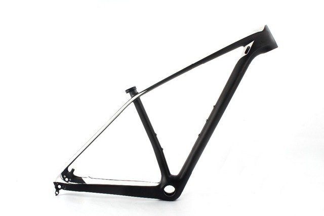 2018 Carbon Mountain Bike Frame China White color Custom Painting ...