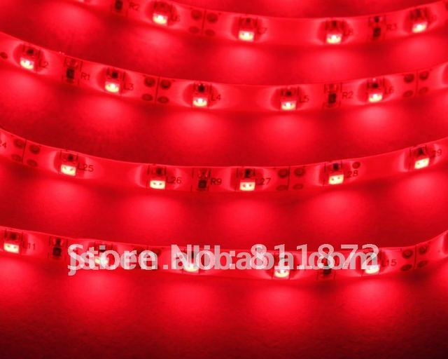Free shipping! SMD 3528 LED Strip Light 60 LEDs/Meter IP20 Waterproof with CE&RoHS (W)