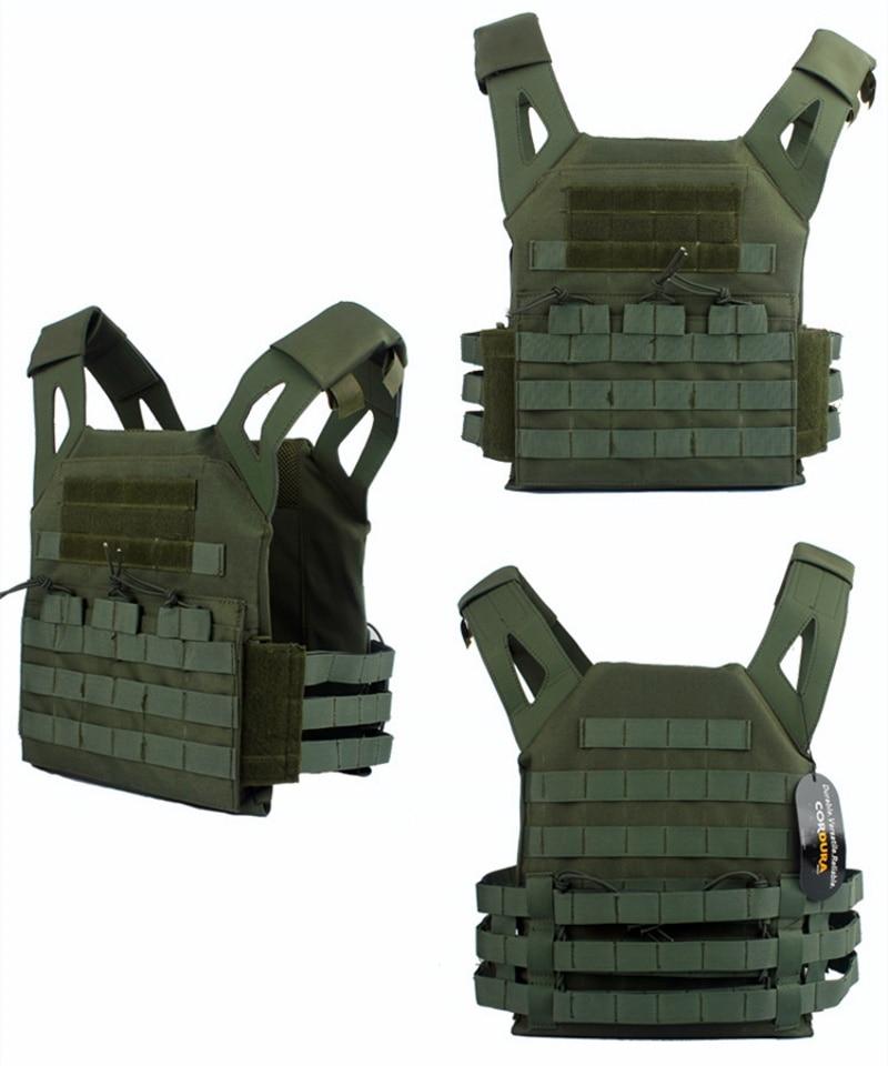 CQC 1000D Molle système JPC tactique plaque transporteur gilet de Combat chasse militaire CS Paintball tactique Molle modulaire Airsoft gilet - 6
