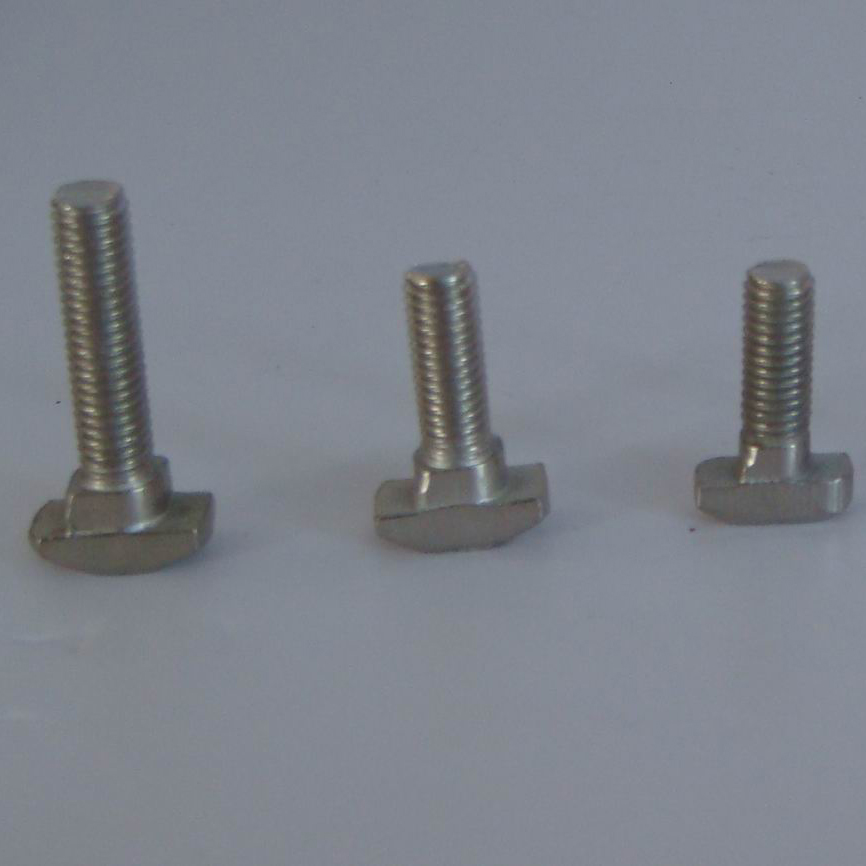 Hammer Head T BoltScrews M8 T-slot Aluminum Extrusion 45 Series Carbon Steel