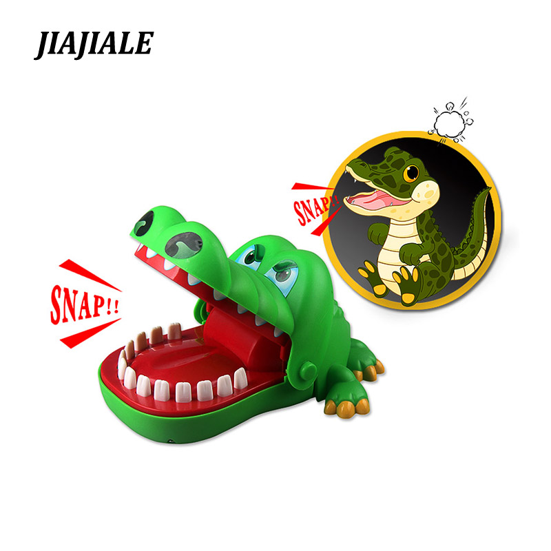 Gags Practical Jokes toy Crocodile dentist parent-child funny game Family interactive toy Gifts For boy girl Kids children whoopee cushion jokes gags pranks maker trick funny toy fart pad fashion random color