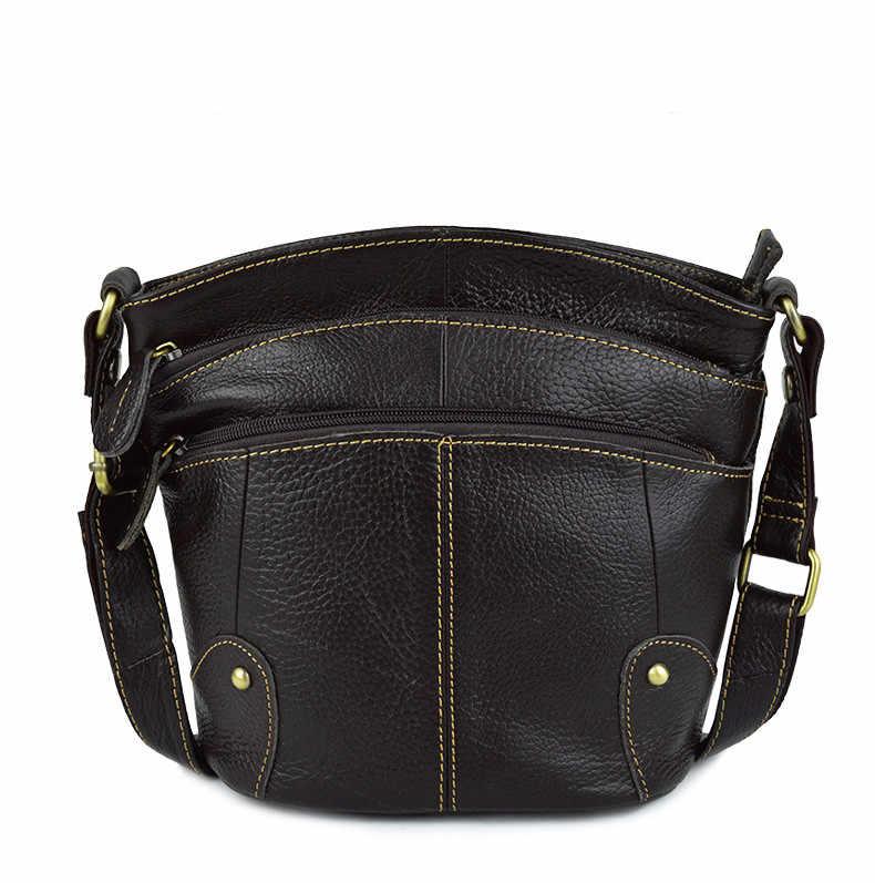 100% peau de vache femmes sac à bandoulière en cuir véritable petits sacs de messager pour dames Shoudler 2019 bolsa feminina bolso mujer AR01