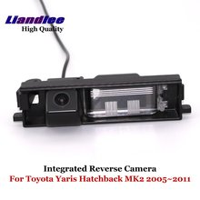 Liandlee For Toyota Yaris Vitz XP90 Hatchback MK2 2005~2011 Car Reverse Parking Camera Backup Rear View Camera / SONY HD CCD liandlee car reverse camera for toyota sequoia mk1 mk2 rear view backup parking camera sony ccd hd integrated high quality