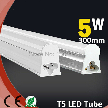 5 pcs led tube lights 300mm t5 5w tube 30cm led linear super brightness led bulb fluorescent. Black Bedroom Furniture Sets. Home Design Ideas
