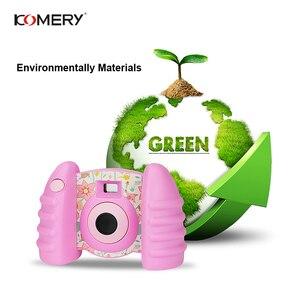 Image 4 - אמיתי KOMERY ילדי מצלמה צעצועים לילדים מצלמה טרי מצלמות וידאו ומצחיק אוטומטי מצלמה אנטי סתיו בריא חומר