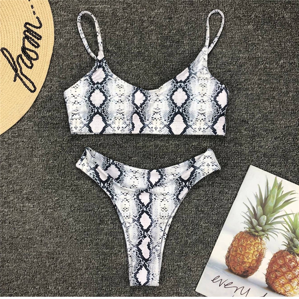 HTB1 NCjUYPpK1RjSZFFq6y5PpXa9 Snakeskin Bikini Women Swimwear Leopard Bikinis Sexy Biquini Swim Suit Push Up Swimsuit Female Beachwear Swimming Bikini Women