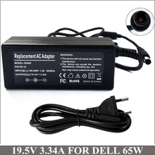 Universal Power Supply 19.5V 3.34A 65W AC Adapter Laptop Charger Plug For Notebook Dell Inspiron 1501 1525 1526 1545