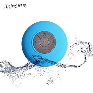 Image 1 - Bluetooth Speaker Draagbare Mini Draadloze Waterdichte Douche Luidsprekers Voor Telefoon MP3 Bluetooth Ontvanger Hand Gratis Auto Speaker