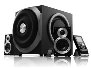 Rambled s2.1mkii 2.1 encoding audio multimedia computer speaker wool sound subwoofer