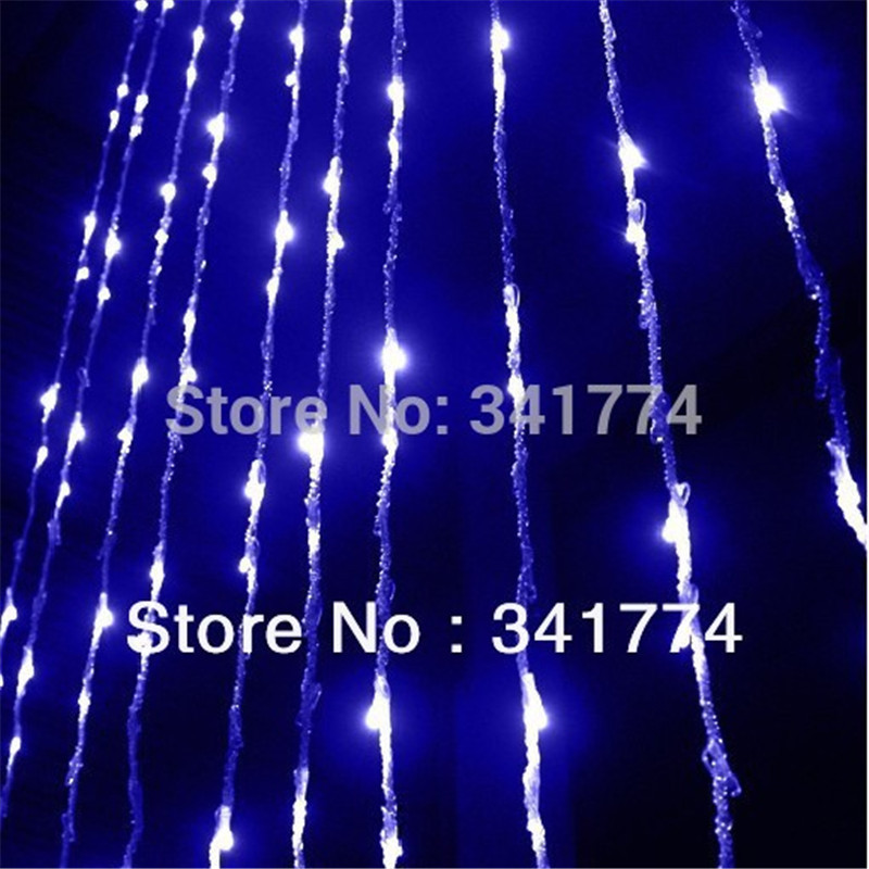 Waterproof 3*3m LED Curtain String Lights Garland for Christmas New Year Home Garden Holiday Wedding Outdoor Decoration Lighting