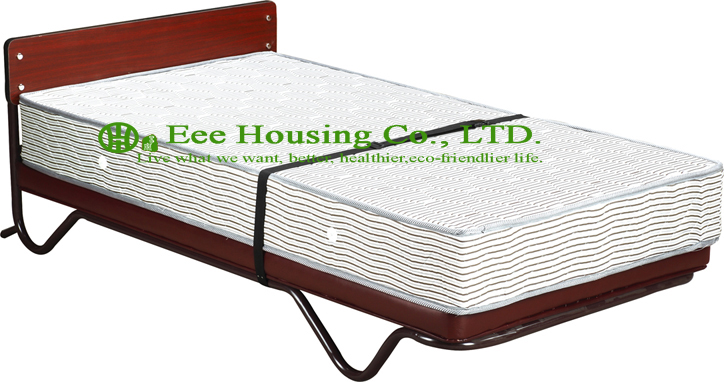 Hotel Extra Folding Bed,metal folding ,Hotel Standing Spring Mattress ExtraBed with strong Bed with strong tubular frame