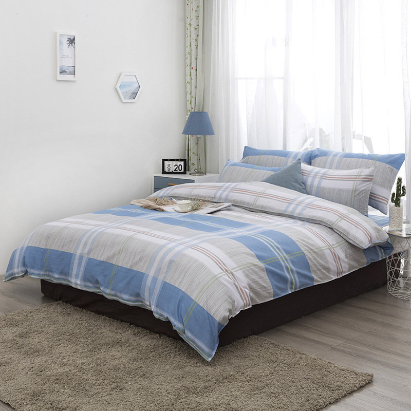 Korean version of the lace princess wind four-piece set of wool tribute cotton  simple fashion  bedspread bedding XHS0128Korean version of the lace princess wind four-piece set of wool tribute cotton  simple fashion  bedspread bedding XHS0128