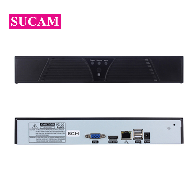 SUCAM 5MP Network Video Recorder 4CH 16CH IP Camera NVR ONVIF Motion Detection DVR for 2MP 4MP 5MP Wired Network CCTV CameraSUCAM 5MP Network Video Recorder 4CH 16CH IP Camera NVR ONVIF Motion Detection DVR for 2MP 4MP 5MP Wired Network CCTV Camera