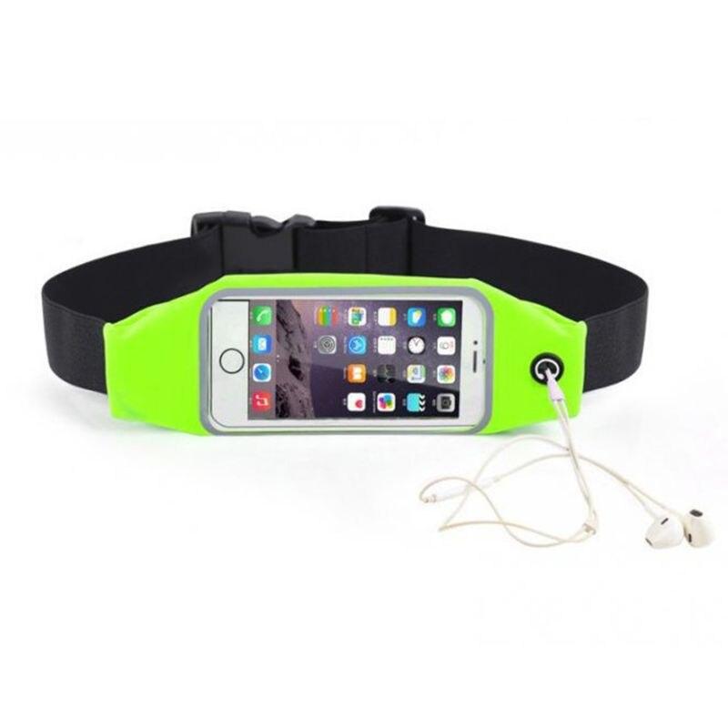 2019 Waist Bag Womens Men's Sport Waist Bag Touch Screen D 'Water Running Belt Bag 4 Phone Holder For Mobile Phone
