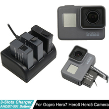 Go pro Hero5 Battery For Gopro hero 7 Hero 6 Hero5+ 3-Way with Type-C Port Charger For GoPro hero7 Hero5 6 Camera accessories 3pc for gopro 2018 gopro hero 5 battery 1600mah gopro 6 7 battery usb battery charger type c for gopro hero5 black accessories page 3 page 6 page 9 page 10