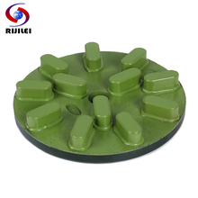 RIJILEI 3Pcs/lot 150mm Marble Resin Polishing Disc 6inch Diamond Grinding Plate for Granite Concrete floor RM03