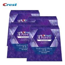 Crest 3D Whitestrips Blanco LUXE 4 Caja Original/160 Tiras 80 Bolsas Efectos Profesionales dientes higiene bucal blanqueamiento dental