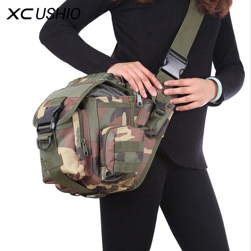 J.SH Outdoor Men Women Tactical Waist Bag / Cross Shoulder Sport Bag for Outdoor Camping Hiking Hunting Military Training Hot
