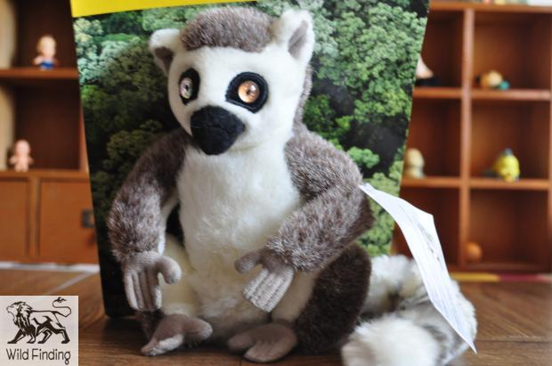 Stuffed Animal Toy Ring Tailed Lemur Doll Simulation Toys For