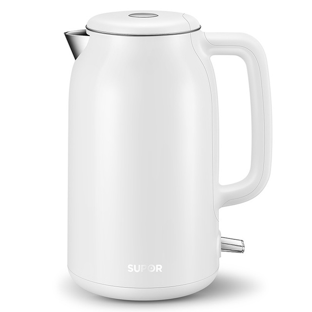 New 1.7L Household Electric Kettle 304 Stainless Steel Water Boiler 1500W Automatic Power-off Teapot For Home Office Hotel