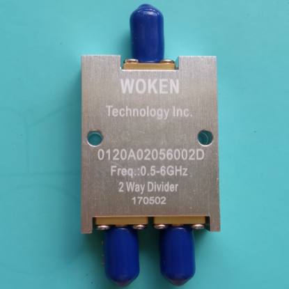 Power Divider, 0.5-6G, WOKEN, Microstrip Two Power Divider, Divider, One Point Two dc 3ghz resistance two power divider rf coaxial power divider sma