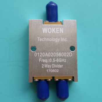 Power Divider, 0.5-6G, WOKEN, Microstrip Two Power Divider, Divider, One Point Two фото