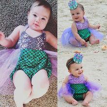 Toddle Girl one piece Swimwear Mermaid Bikini Swimsuit Kids Sequined Swimming Suit For Girl Bathing Suit Costume Biquini