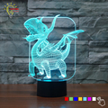 Color Change Good Dinosaur Toys LED Lamp LED Night Light for Children Table Lampada LED Lighting New Year Gift for Boys Kids