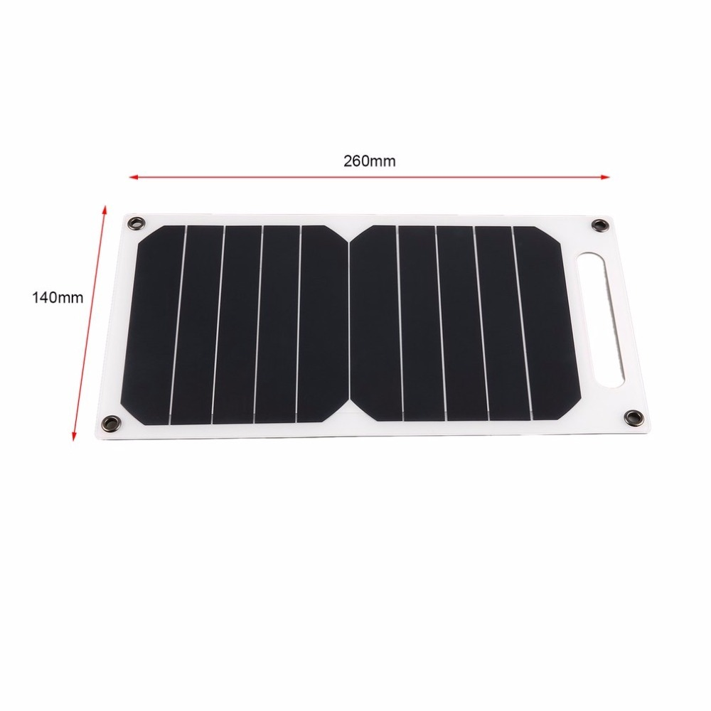 5 V 5 W Panel de carga Solar portátil ligero energía Solar cargador ...
