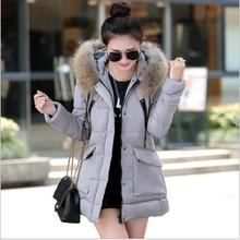 Autumn Jacket Women 2016 New Winter Womens Parka Casual Outwear Hooded Coat Coats Manteau Femme Woman