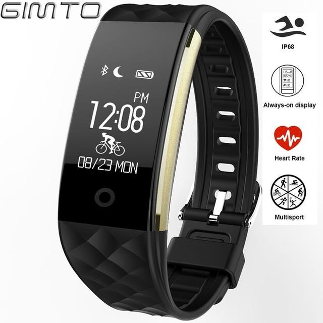 GIMTO Спорт Смарт часы Для детей Часы Монитор Сердечного Ритма Цифровой светодиодный девушка Водонепроницаемый Смарт-часы наручные часы для мальчика