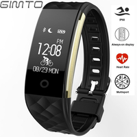 GIMTO Sport Smart Watch Children Kids Watches Heart Rate Monitor Digital Led Girl Waterproof Smart Watch