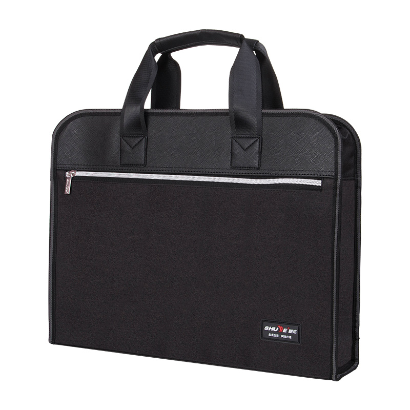 Portable File Bag Briefcase Business Simple Fashion Style Office Education Culture Can Be Customized