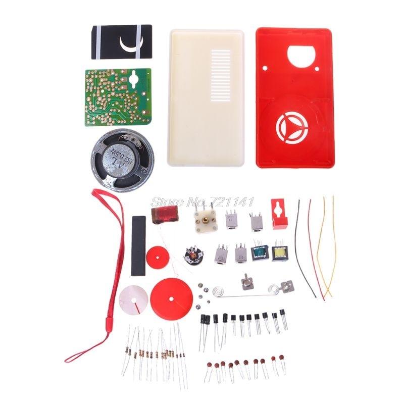 7 Tube AM Radio Electronic Kit HX108-2 F5D4 DIY Electronic Set Product Accessory Dropship New