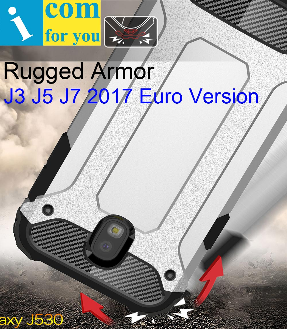 Drop resistance anti hit Case For Samsung Galaxy J5 J3 J7 2017 J330F J530F J730F EU J8 2018 Rugged Hybrid Armor Shield Cover