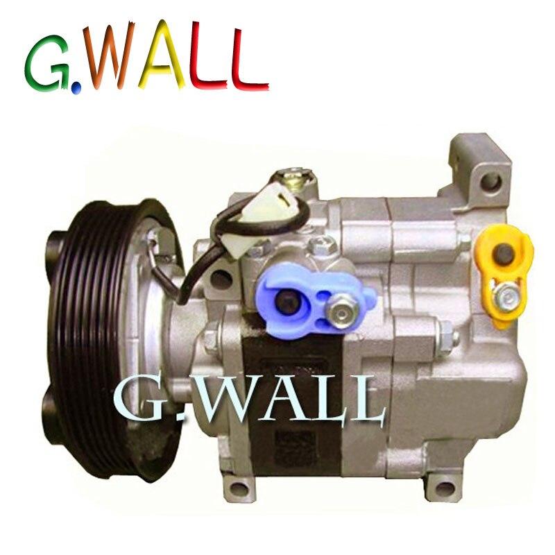 Haute qualité ac compresseur pour voiture mazda 3 M3 1.6 L 2003 2004 2005 2006 2007 2008 2009 H12A1AG4DY BP4K61K00 H12A1AG4DY